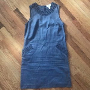Ann Taylor Loft grey dress